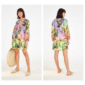 Farm Rio Amazonian Ombre Mini Dress Size XS